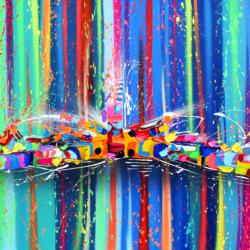 Acid'Jazz // Original Spray & Acrylic // 100*80