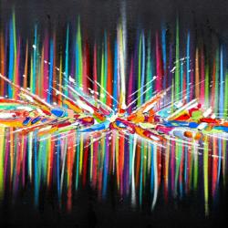 Angel // Original Spray & Oil Painting // 50*50
