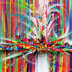 Dream Pop // Original Spray & Acrylic // 100*100